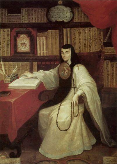Miguel Cabrera: Sor Juana Inés de la Cruz, 1750. Castillo de Chapultepec, Mexico.