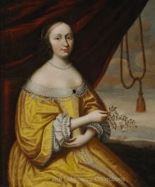 Ernestine de Nassau: Klara Isabella von Kronberg, marquesa de Marolles. Palacio Lobkowicz, Praga.
