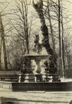 José Sala y Sardá: Fuente de Neptuno, ca. 1865. Foto: Patrimonio Nacional.