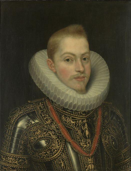 Juan Pantoja de la Cruz: Retrato de Felipe III, ca. 1603. Madrid, Patrimonio Nacional.