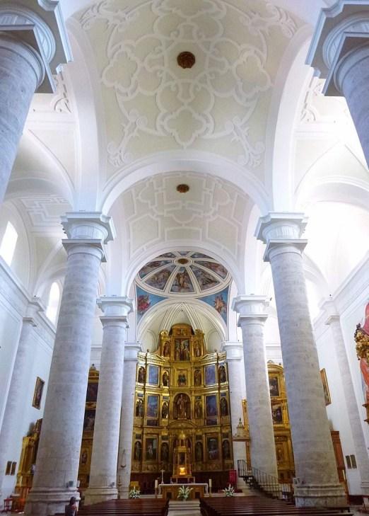 Interior de la iglesia catedral de la Magdalena de Getafe, Alonso de Covarrubias, Juan Francés, Juan Gómez de Mora.
