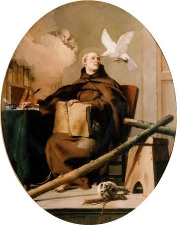 Giambattista Tiepolo, San Pedro de Alcántara, Patrimonio Nacional.