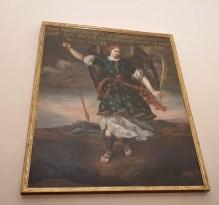 Bartolomé Román. San Miguel Arcángel. Coro del convento de la Encarnación. foto: @cipripedia.