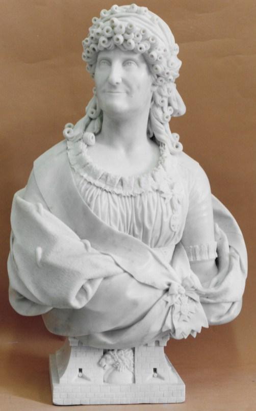 Juan Adán: María Luisa de Parma, 1799, mármol blanco. Madrid, Palacio Real, Patrimonio Nacional, inv. 10002968.