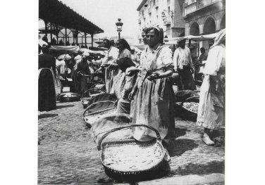 Venta de Pescado en el Mercado de la Ribera. Eulalia Abaitua. Museo Vasco de Bilbao