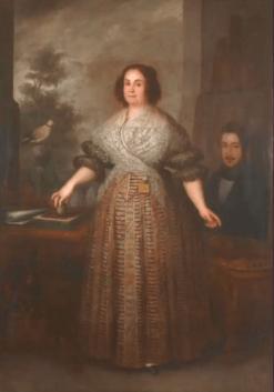 José Gutiérrez de la Vega, Josefa López, esposa del artista, 1837. Madrid, Museo Nacional del Romanticismo