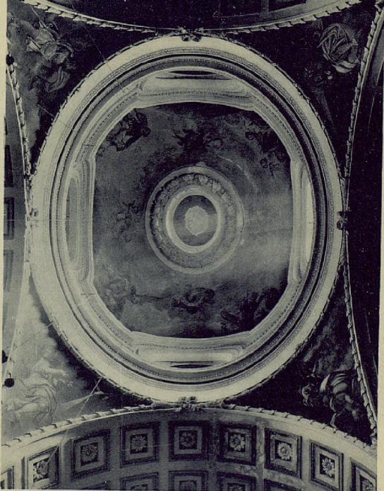 Vista de la cúpula del Oratorio del Caballero de Gracia, ca. 1931. Fotografía de Hauser y Menet.