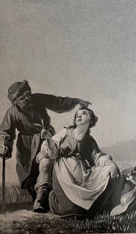 Zacarías González Velázquez, Ruth Espigando, 1792. Castillo de Perelada.