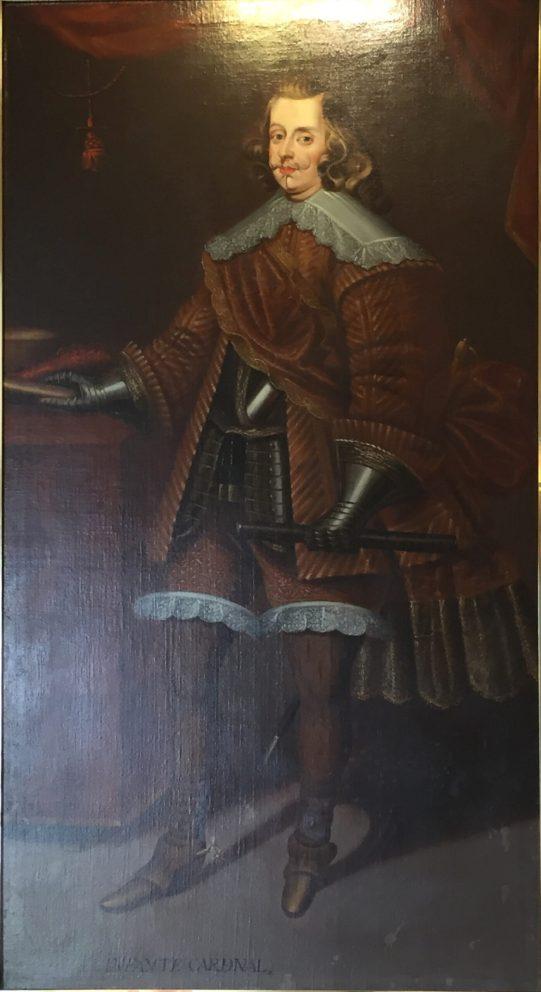 Joan Arnau?, Cardenal Infante don Fernando de Austria, 1678. Paeria de Cervera. Foto: Investigart.