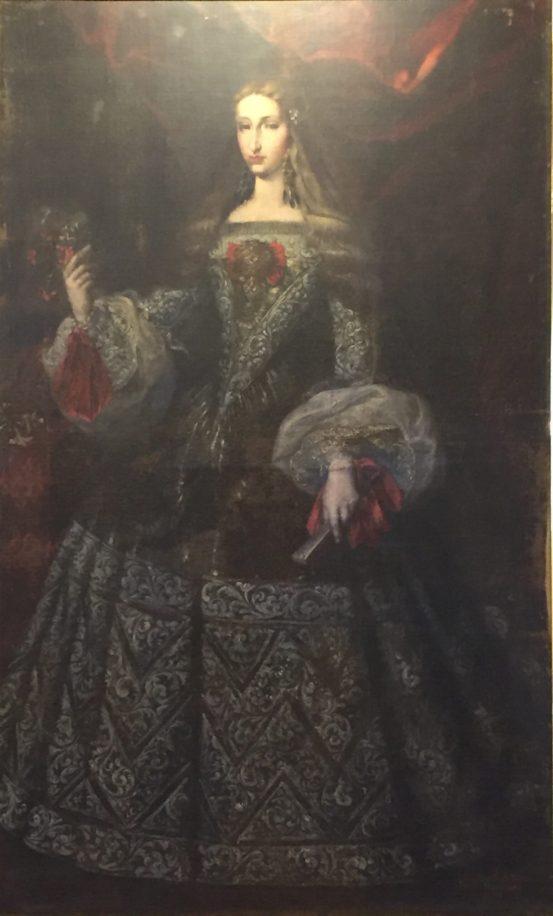 Manuel Arnau, Mariana de Neoburgo, 1690. Paeria de Cervera. Foto: Investigart.