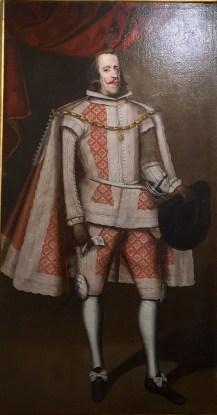 Escuela española, Retrato de Felipe IV, siglo XVII. Fuente: Marita Segovia.