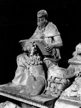 Sepulcro del Cardenal Cisneros. Detalle. Foto: IPCE. Archivo Moreno.