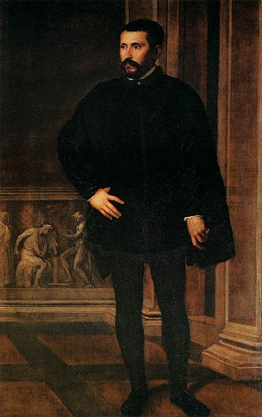 Tiziano, Diego Hurtado de Mendoza. Florencia, Palazzo Pitti.