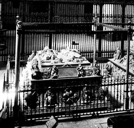 Sepulcro de los Reyes Católicos. Capilla Real de Granada. Foto: IPCE. Archivo Ruiz Vernacci