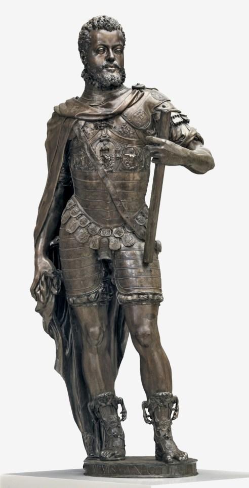 Leone Leoni y Pompeo. Felipe II. Museo del Prado.