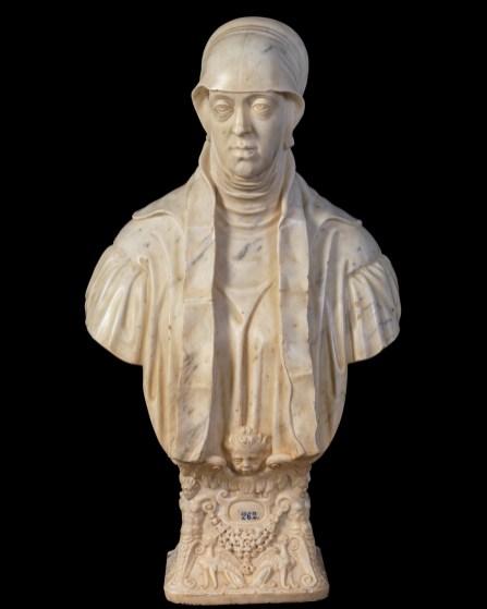 Leone y Pompeo Leoni. María de Hungría. Museo del Prado.
