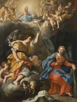 Maratta, Carlo; The Annunciation; Northampton Museums & Art Gallery; http://www.artuk.org/artworks/the-annunciation-49858