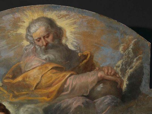 Imagen de Dios Padre después de la restauración. Foto: Kik-Irpa.
