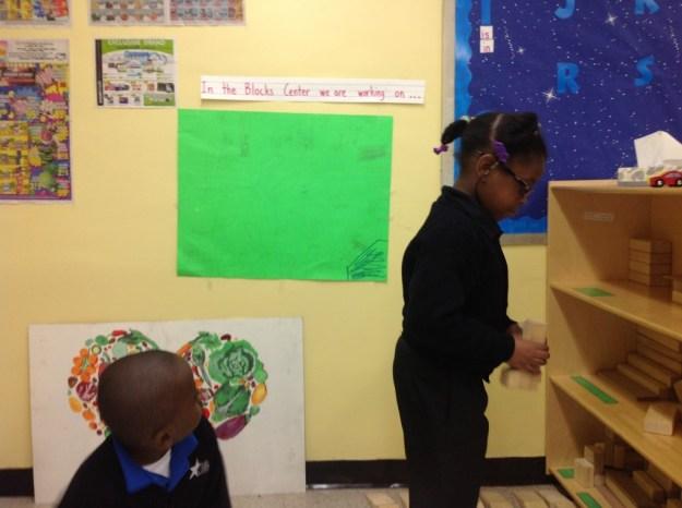 first grade plan for market building
