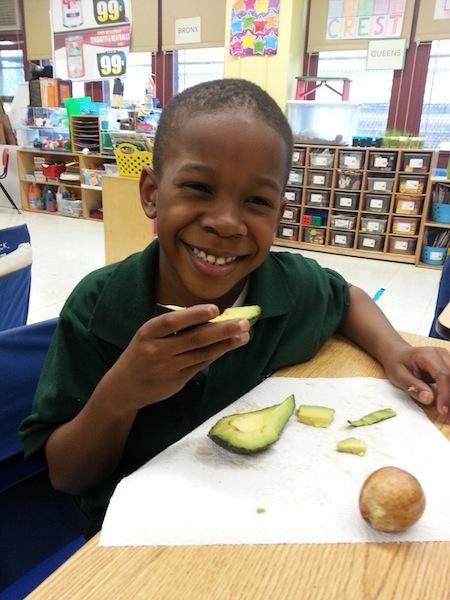 I like the avocado!