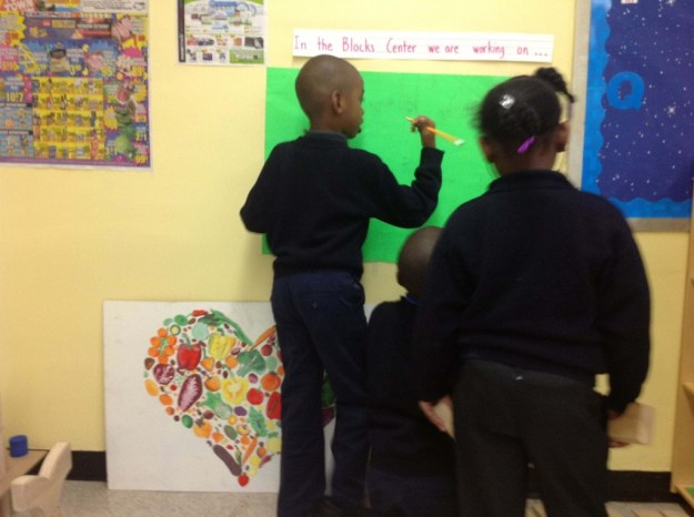 revising the first grade building plan