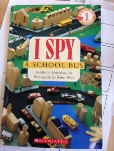 I spy book