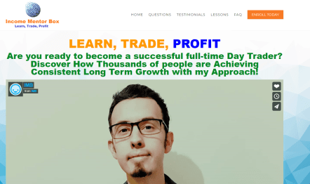 Trade from Home Income Mentor Box
