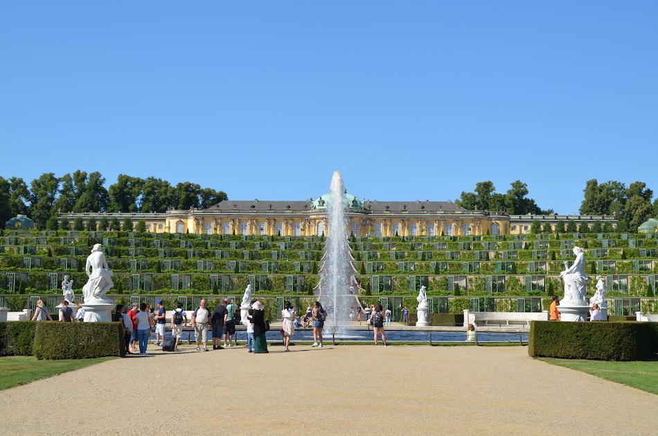 Investir dans l'immobilier à Potsdam - Château Sans-Souci à Potsdam