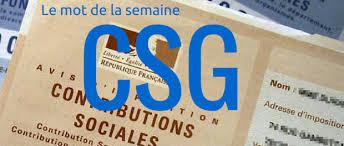 Hausse de la CSG à compter du 01/01/2018