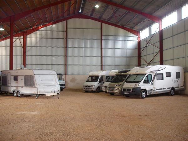 Investir un garage pour l'hivernage