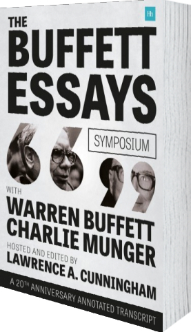 Buffett Essays Symposium 3d-book