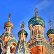 Russian Basilica - Russian market