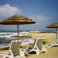 Beach at Amathus Beach Hotel, Cyprus