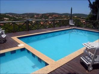 Buzios posada pool deck