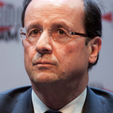 François Hollande, January 2012