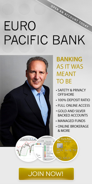 Peter Schiff of Euro Pacific Bank