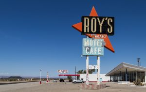 Roy's Cafe & Motel, Amboy (California, USA)