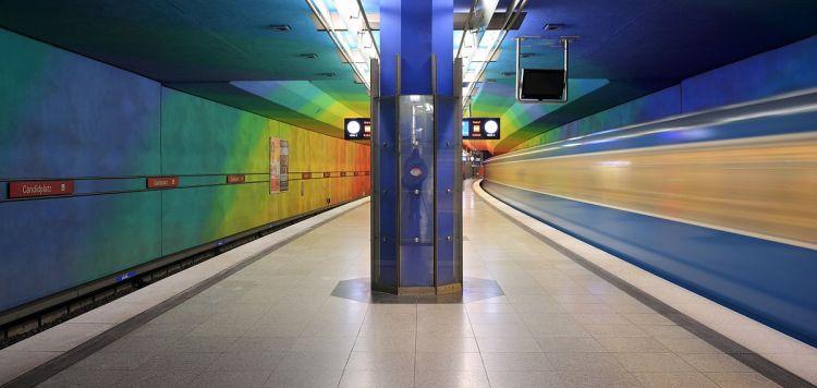 Munich subway station Candidplatz - Offshore Investment