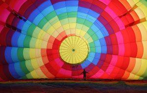 Cappadocia Balloon Inflating Wikimedia Commons - Helicopter money