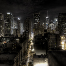 New York City at night - Hedge Fund Managers