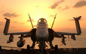 """At sea aboard USS John C. Stennis (CVN-74) Dec. 18, 2001 -- After an early morning round of flight operations, an F/A-18 """"Hornet"""" awaits the next round of combat flight operations aboard USS John C. Stennis. Stennis and her embarked Carrier Air Wing Nine (CVW-9) are supporting Operation Enduring Freedom. U.S. Navy photo by Photographer's Mate 3rd Class Jayme Pastoric. (RELEASED) on unpaid taxes"""