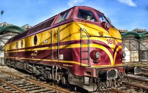 Luxembourg locomotive railroad railway - Offshore investment platform