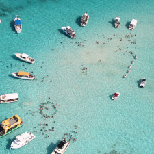 Stingray City (the shallow one) Cayman Islands - private equity