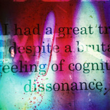 cognitive dissonance resentment