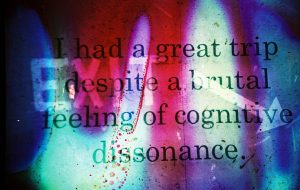 cognitive dissonance resentment