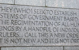 FDR Memorial - Washington DC - Great Depression comparison