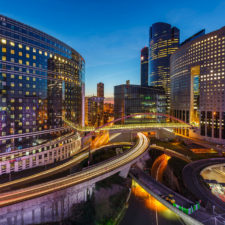 Paris Business District - Sustainable infrastructure