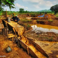 Jim Sinclair - Local Villager Mining for Gold and Gems in Thailand