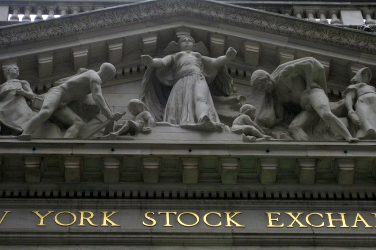 NYC - Financial District: NYSE - Gold Market Speculation
