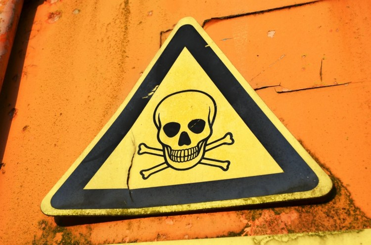 Warning Sign, Sign, Warning about Offshore Escrow Accounts